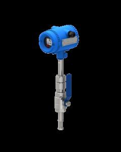 ball valve thermal mass flow meter