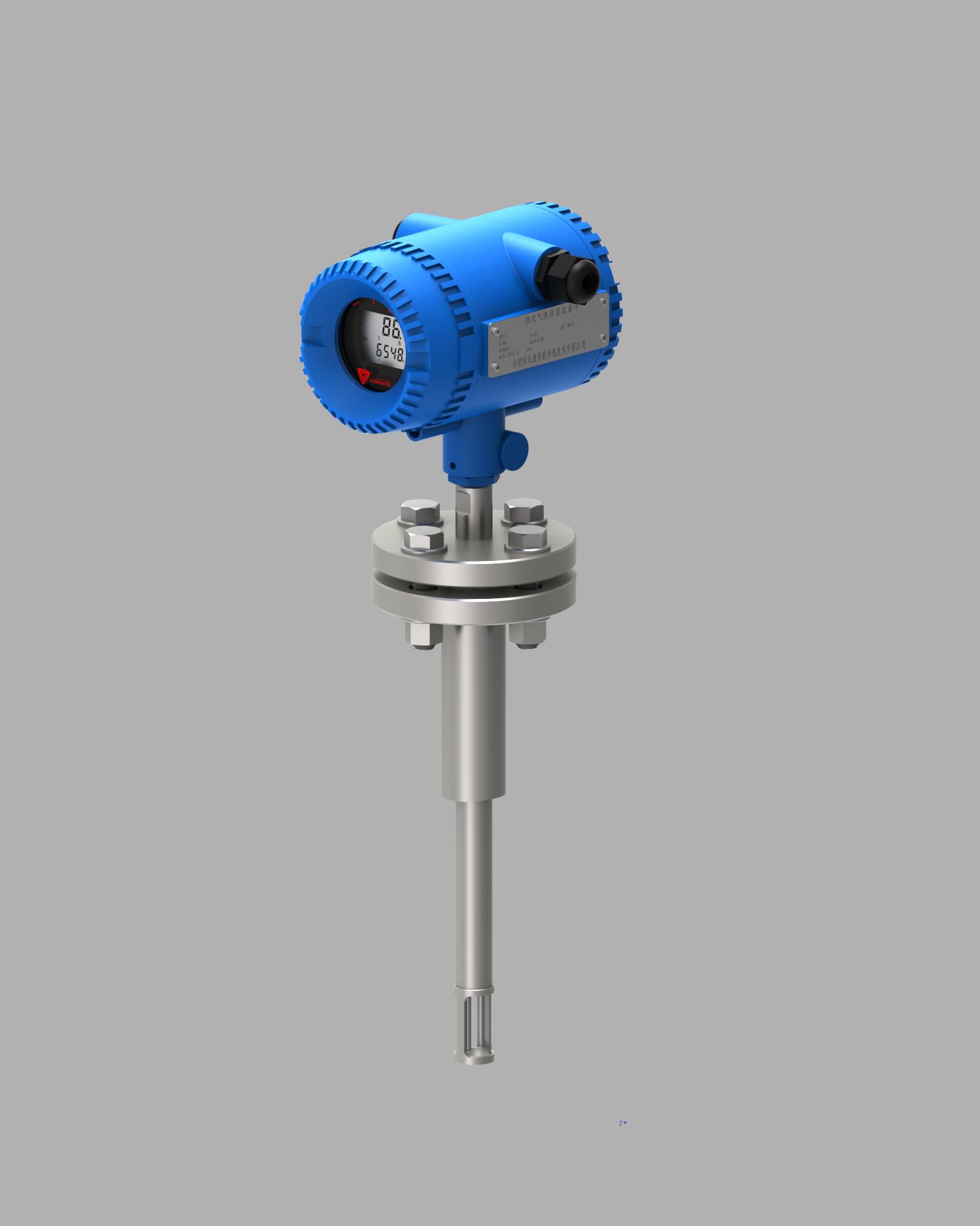 insertion flange type TGF600 Inline Thermal Gas Flowmeters