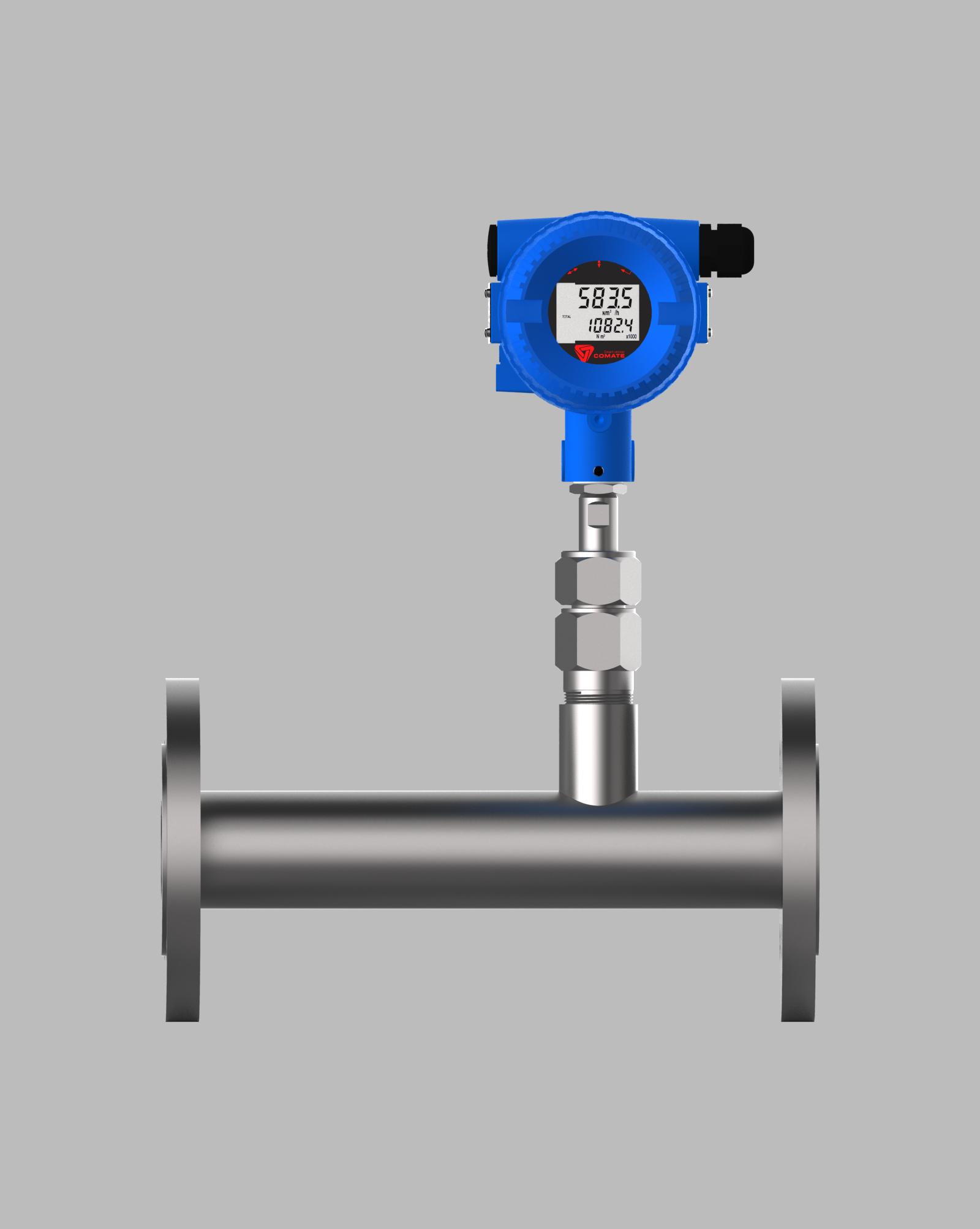 Inline Gas Flow Meter : Tgf inline thermal gas flowmeters