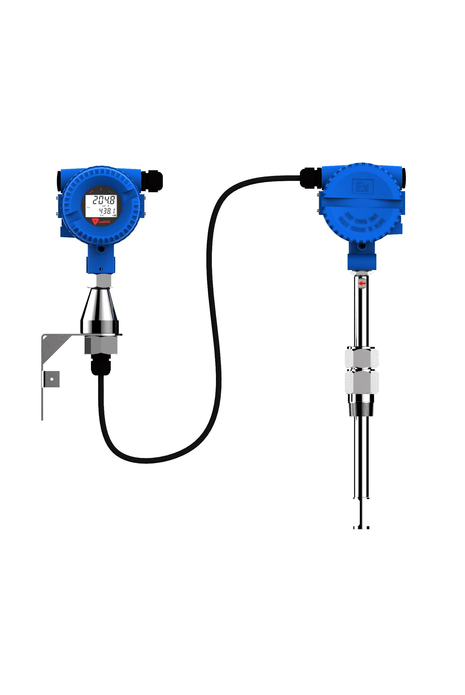 remote display TGF600 Inline Thermal Gas Flowmeters