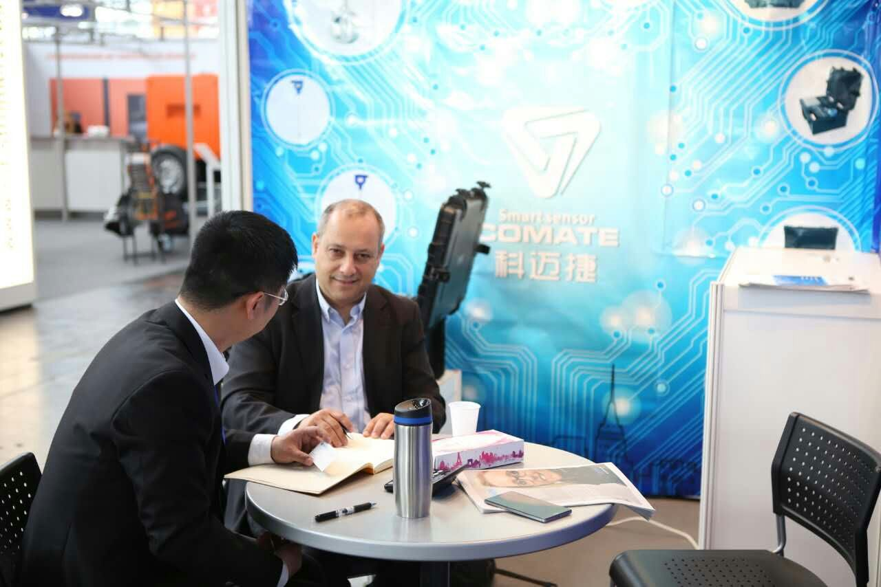 Comate Intelligent Sensor exhibition in HANNOVER MESSE -2