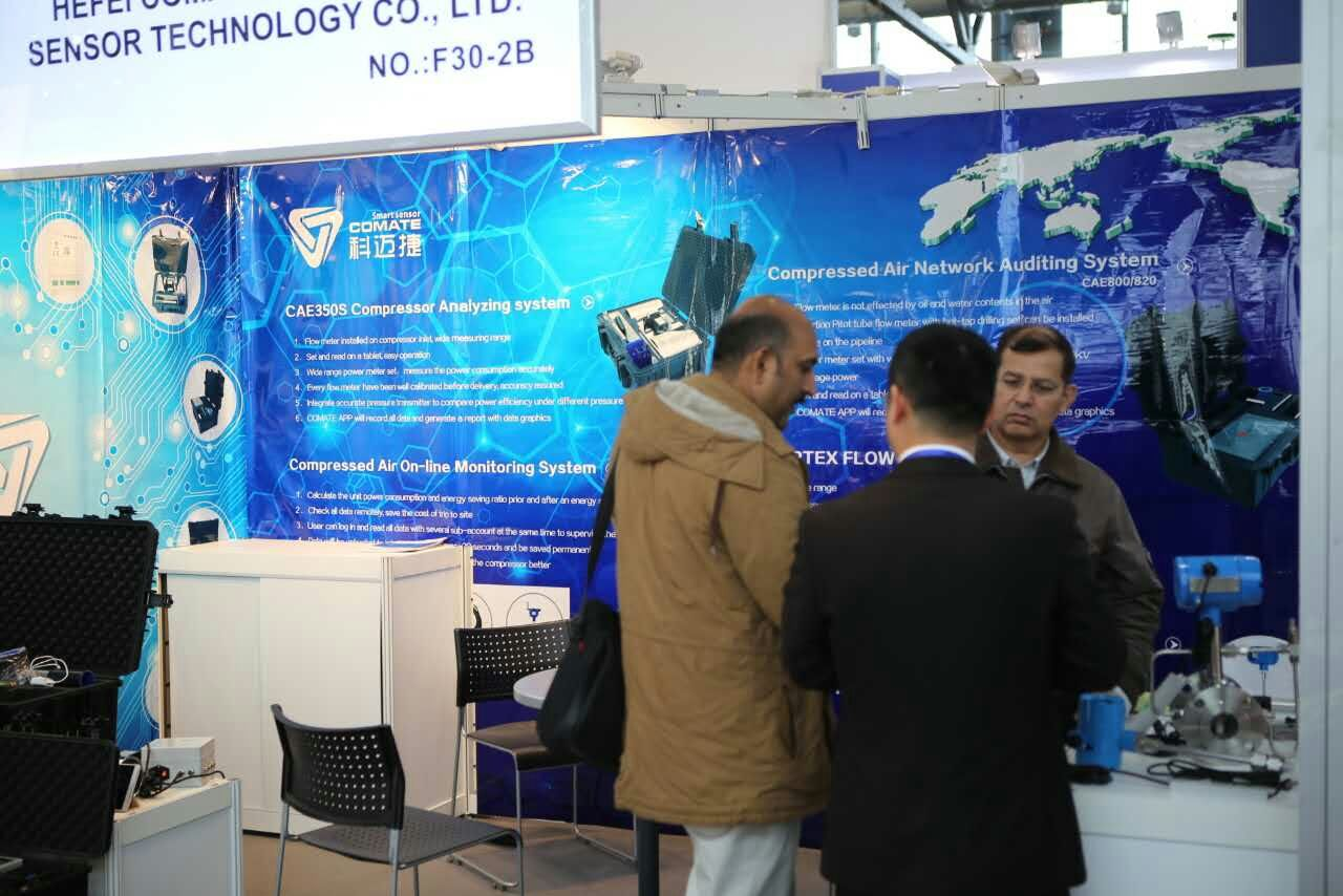 Comate Intelligent Sensor exhibition in HANNOVER MESSE -3