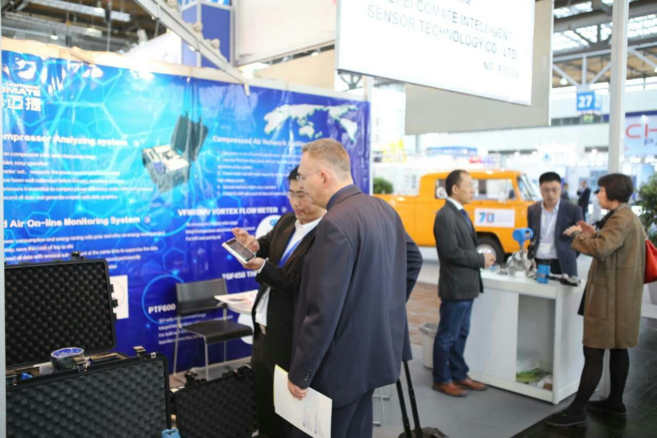 Comate exhibition in HANNOVER MESSE