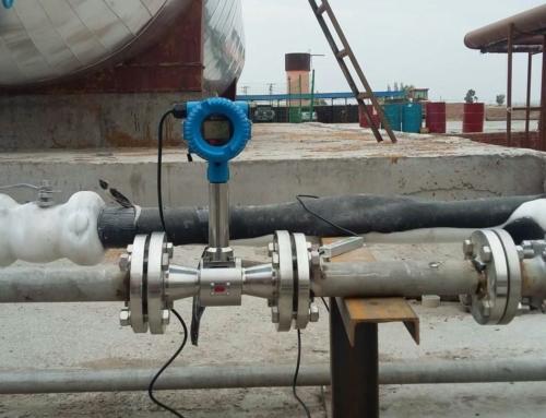 Downsized DN32 vortex flow meter for Nitrogen flow measurement