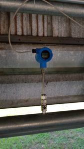 TGF450 Thermal mass flow meter application in Carpet Plant