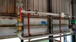 TGF450 Thermal mass flow meter application in Carpet Plant (2)