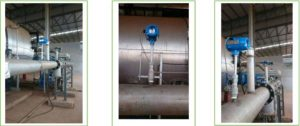TGF600 thermal mass flow meter application in fuel gas measuring