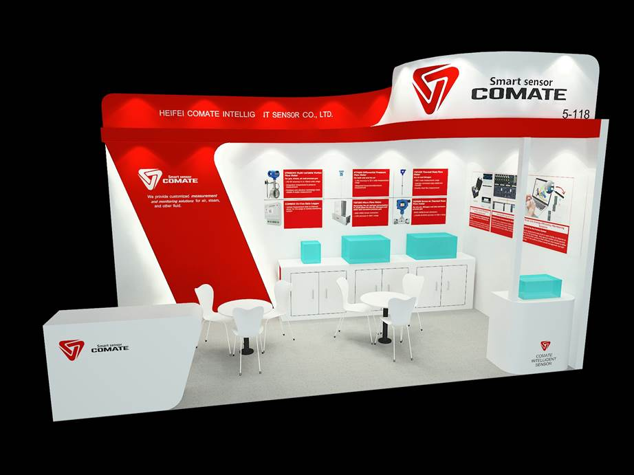 COMATE 2018 Sensor+Test exihition in Numberg Germany