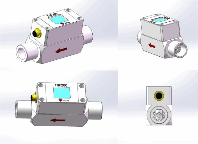 TGF210 Micro mass flow meter