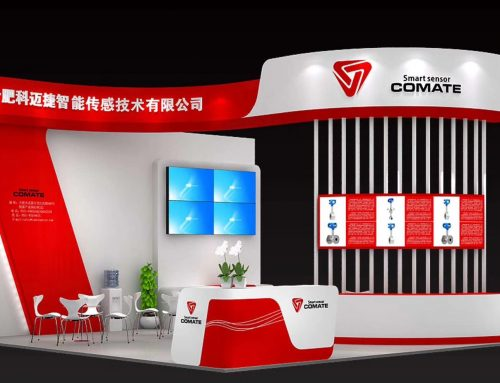 COMATE INTELLIGENT SENSOR exhibit on PTC Asia 2018 China