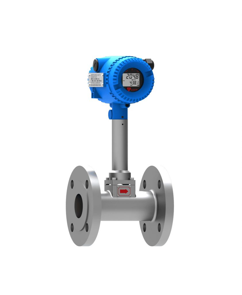 digital vortex flowmeter
