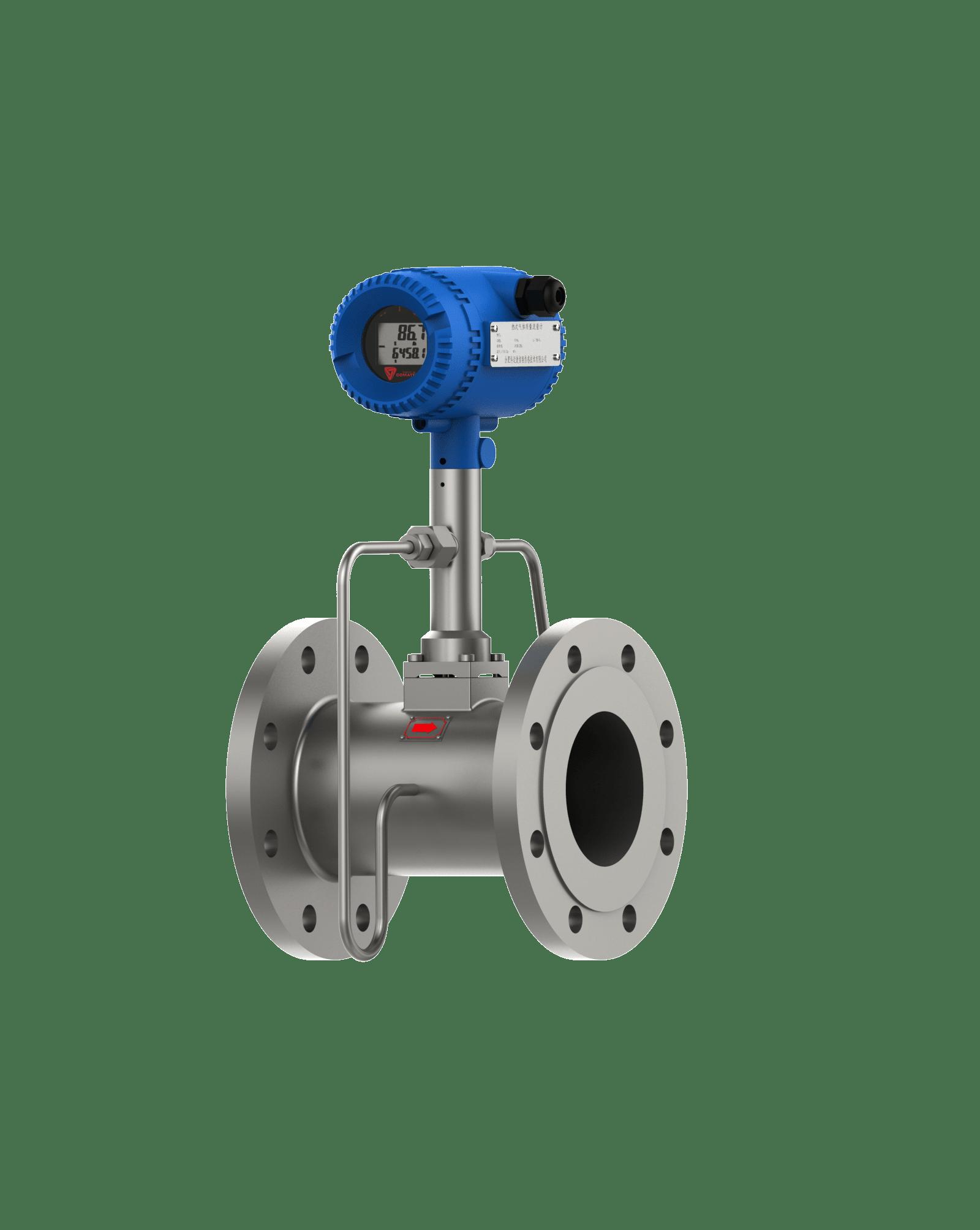 vortex gas flow meter