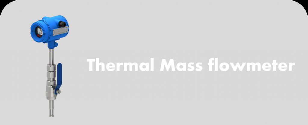 thermal mass flowmeter